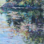 The River at Ella Sharp Sharon Sunday Pastel 9x12 $200