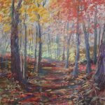 Meridian Baseline State Park 9x12 Pastel on Premier Pastel Paper NFS